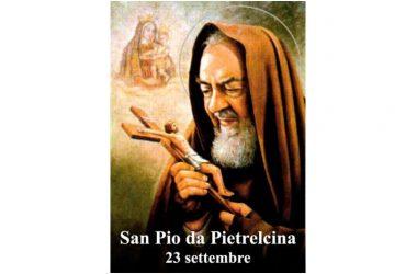 IL SANTO di oggi 23 Settembre – San Pio da Pietrelcina (Francesco Forgione)