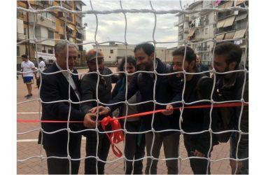 """NAPOLI EST TEATRO  """"Il Nest consegna ai bambini del Rione Villa il campetto riqualificato """""""