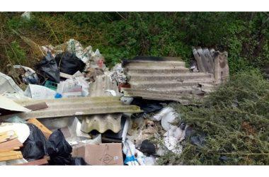Villa Literno  amianto  e  materiali   combusti  su  diversi  punti  del  territorio