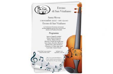 All'Eremo di San Vitaliano la celebrazione Eucaristica di Ognissanti sarà animata dal Soprano Lirico Internazionale Teresa Sparaco