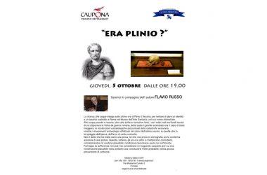 Era Plinio il Vecchio? incontro con Flavio Russo