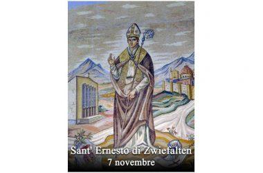 IL SANTO di oggi 7 Novembre – Sant' Ernesto di Zwiefalten