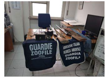 Operazione antibracconaggio sul terreno agreste di Giugliano in Campania