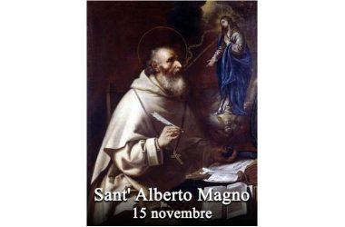 IL SANTO di oggi 15 Novembre – Sant' Alberto Magno