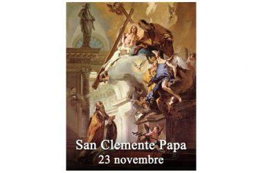 IL SANTO di oggi 23 Novembre – San Clemente I Romano