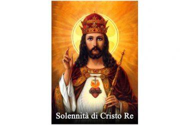 OGGI 24 Novembre 2019 si celebra – Solennità di Cristo Re