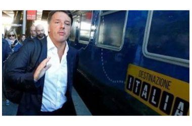 Il treno di Renzi fa tappa nel casertano