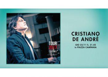 CRISTIANO DE ANDRE' in concerto