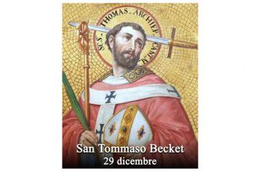 IL SANTO di oggi 29 dicembre – San Tommaso Becket