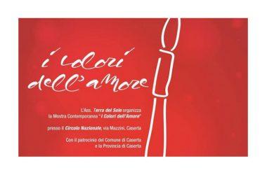 Caserta, I Colori dell'Amore, la mostra al Circolo in via Mazzini