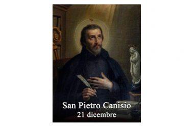 IL SANTO di oggi 21 Dicembre – San Pietro Canisio