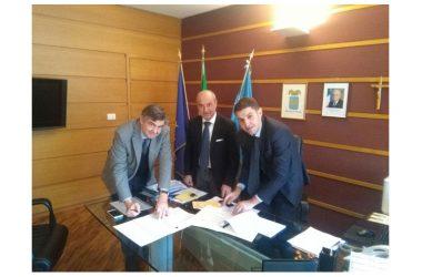 Firmato accordo di collaborazione tra Università e Provincia di Caserta