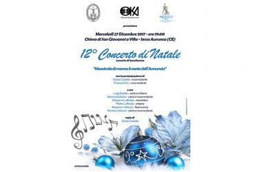 Natale a Sessa Aurunca: 12° Concerto di beneficenza
