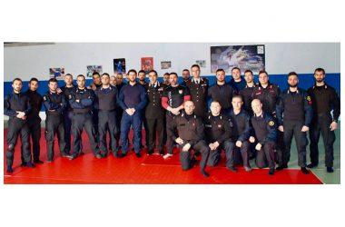 Stage di difesa personale (API e SOS) per i carabinieri di Roma con il Maestro Improta