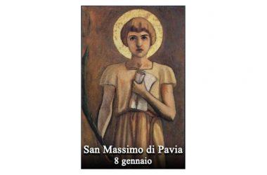 IL SANTO di oggi 8 Gennaio – San Massimo di Pavia