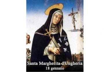 IL SANTO di oggi 18 Gennaio –  Santa Margherita d'Ungheria