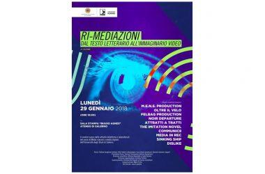 """""""Ri-mediazioni"""", oggi a Fisciano il contest video degli studenti"""