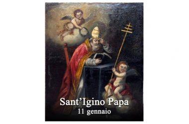 IL SANTO di oggi 11 Gennaio 2018 – Sant' Igino