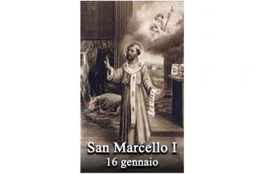 IL SANTO di oggi 16 gennaio – San Marcello I