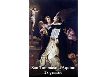 IL SANTO di oggi 28 Gennaio – San Tommaso d'Aquino