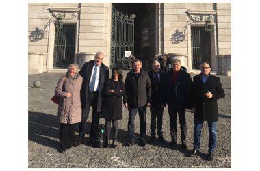 VISITA COMMISSIONE TRASPORTI E TURISMO PARLAMENTO EUROPEO | DICHIARAZIONI DELLI, CAPUTO, FELICORI, MARINO A CASERTA