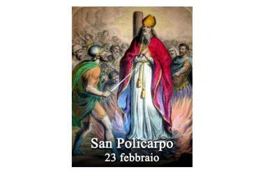 IL SANTO di oggi 23 Febbraio – San Policarpo