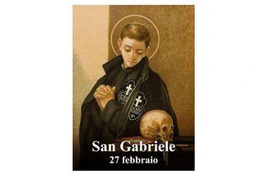 IL SANTO di oggi 27 Febbraio – San Gabriele dell'Addolorata