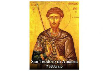 IL SANTO di oggi 7 Febbraio – San Teodoro di Amasea