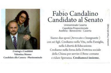 """Perché votare il """"Popolo della Famiglia"""" e l'avv. Fabio Candalino il 4 marzo ?"""