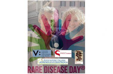 """Sabato 24 febbraio, alle 11.00 e alle 12.15, a Città della Scienza, Corporea, focus sull'universo delle malattie rare con l'appuntamento """"Ridare vita alla vita attraverso il DNA: l'Adrenoleucodistrofia la rosa della speranza""""."""