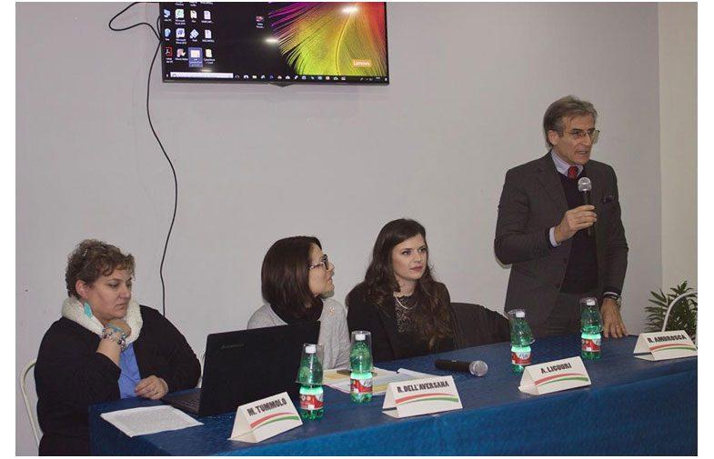 FERMA IL BULLO-RICOMINCIA A VIVERE: la lista civica La Scelta si impegna anche su temi sociali e Cancello ed Arnone aderisce commosso all'evento.