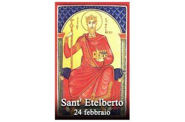IL SANTO di oggi 24 Febbraio – Sant' Etelberto