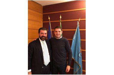 Eugenio Di Santo, Coordinatore per la campagna elettorale di Forza Italia