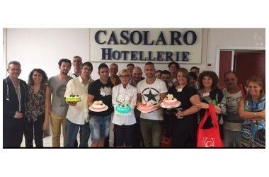 150 anni di CASOLARO HOTELLERIE – Al via la 1° Rassegna delle Giacche bianche (19-20 febbraio h. 12.00-17.00 presso lo showroom – Cis di Nola – isola 8)