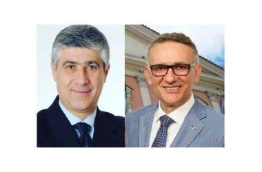 """Dimissioni dei Consiglieri Provinciali, Luigi De Cristofaro e Galantuomo Vincenzo, dal Gruppo Consiliare """"Moderati""""."""