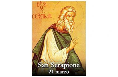 IL SANTO di oggi 21 Marzo – San Serapione di Thmuis