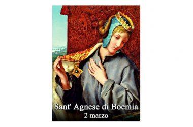 LA SANTA di oggi 2 Marzo – Sant' Agnese di Boemia