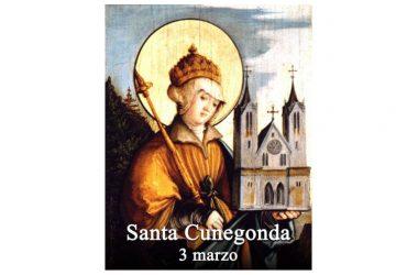 LA SANTA di oggi 3 Marzo – Santa Cunegonda