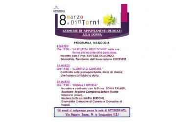 8 MARZO, Giornata Internazionale della Donna, a Grazzanise non solo mimose