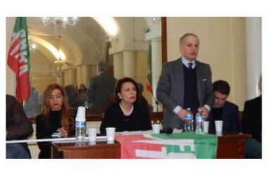 """Lonardo, Sarro, Grimaldi, Del Gaudio, Vairo e Magliocca ieri in conferenza al Circolo Nazionale CASERTA: FORZA ITALIA """"NON LASCIA, ANZI RADDOPPIA"""""""