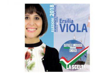 """ERSILIA VIOLA UFFICIALIZZA LA SUA CANDIDATURA NELLA LISTA """"LA SCELTA"""""""