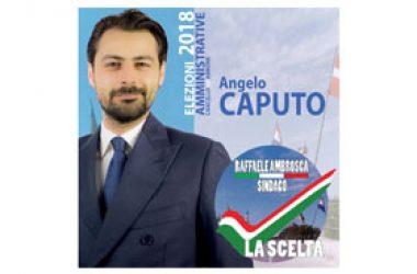 LA SCELTA: l'avv. Angelo Caputo ufficializza la sua candidatura.