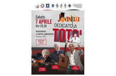 XIII FESTIVAL JOVINELLI CAIAZZO SPECIALE TOTO' – APERTURA CON CARLO CROCCOLO E MICHELE PLACIDO