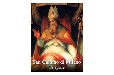 IL SANTO di oggi 18 Aprile – San Galdino