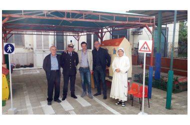 Mariglianella: Educazione Stradale con la Polizia Municipale presso la Scuola dell'Infanzia Maria SS. della Sanità.