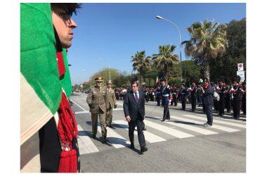 Forte dei Marmi: Sottosegretario Difesa Rossi a raduno nazionale Granatieri