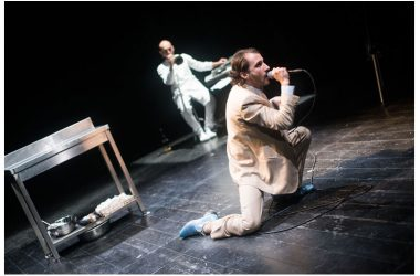 """Al Nostos Teatro, """"Codice Nero"""" di e con Riccardo Lanzarone"""