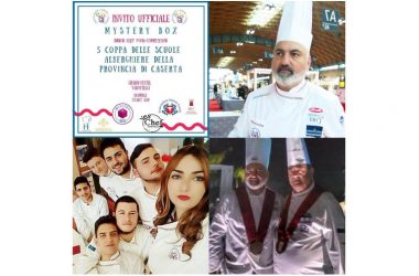 "Associazione Cuochi Caserta, tutto pronto per l'evento ""Mystery box: Junior chef food competition"""