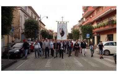 Brusciano Questua del Giglio Croce Passo Veloce per la 143esima Festa dei Gigli in Onore di Sant'Antonio di Padova.