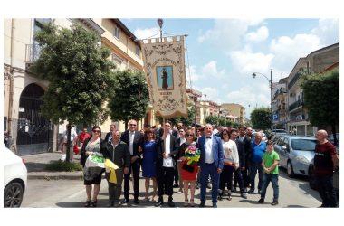 Brusciano Questua del Giglio della Gioventù per la 143esima Festa dei Gigli in Onore di Sant'Antonio di Padova.